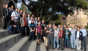 The Advisory Board and Researchers at the Annual Review Meeting on February 11, 2014 at Stanford University.